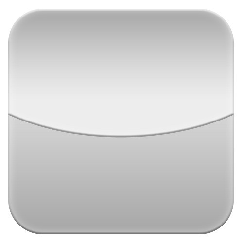 Blank Calendar App Icon : Blank clock iphone icon uploaded with realmac software