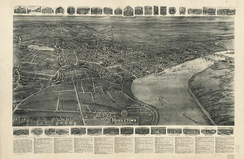 View of Middletown, Conn. 1915 | by uconnlibrarymagic