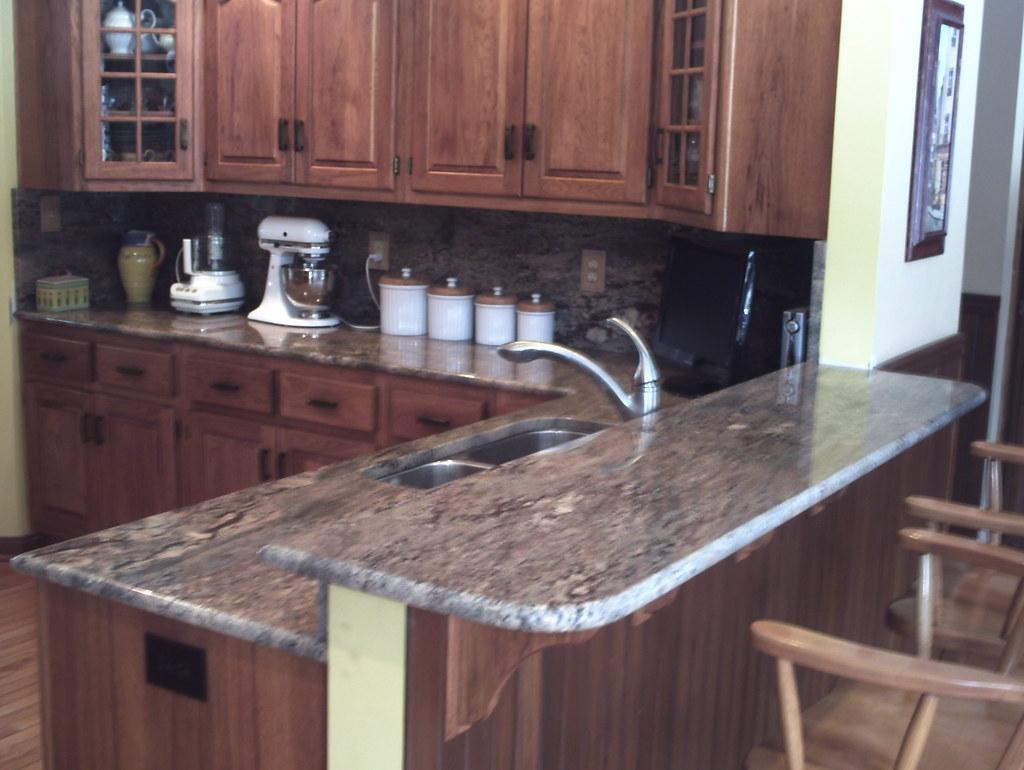 ... Crema Bordeaux Granite Countertop   By Supreme Surface