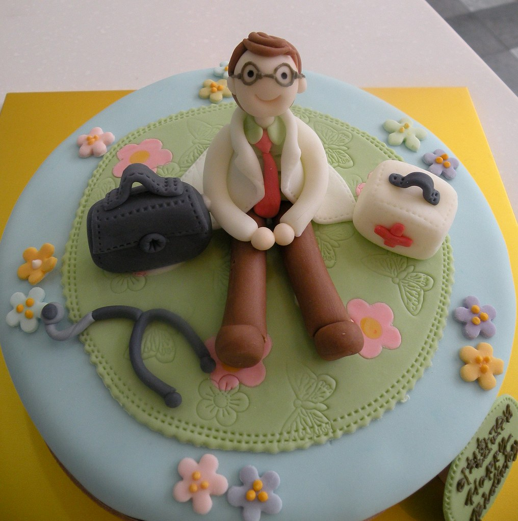 Doctors Birthday Cake Kim Hyeyoung Flickr