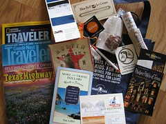 Travel Swag Bag Contents SXSWi | by TheSeafarer