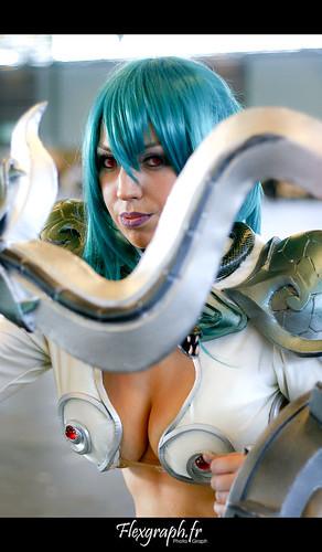Cosplay Echidna - Queen's Blade @ Japan Expo 2009 ... Queens Blade Echidna Cosplay