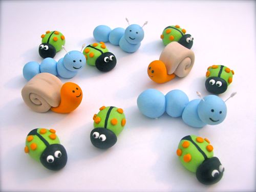 Snail Cake Decorations