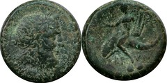 HN Italy 0737 Sextans, Brundisium Neptune Dolphin boy lyre 18g60 AM#0629-19 lovely large coin with attractive green patina | by Ahala