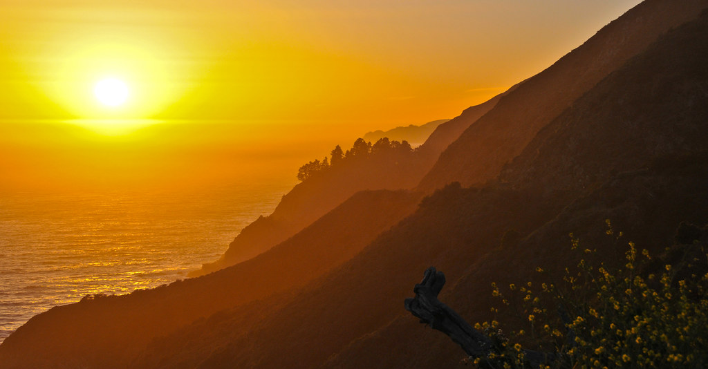 Big Sur CA sunset