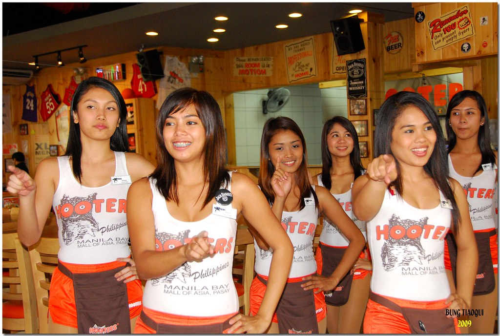 Asian hooter girls