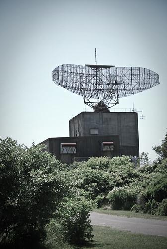 An Fps 35 Radar At Camp Hero Montauk Long Island This