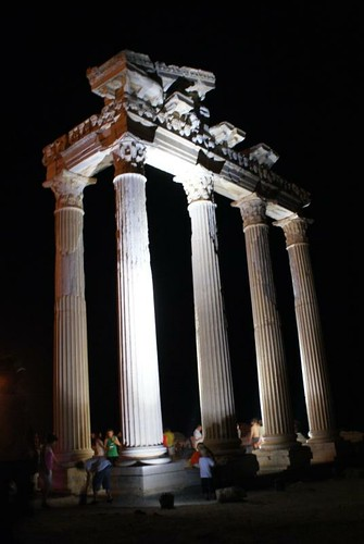 Temple Of Apollo Night | by Simon Bunting