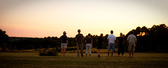 an after dinner game of boules | by static-photo