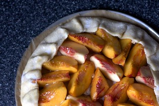 nectarine-almond tart, ready to bake | by smitten kitchen