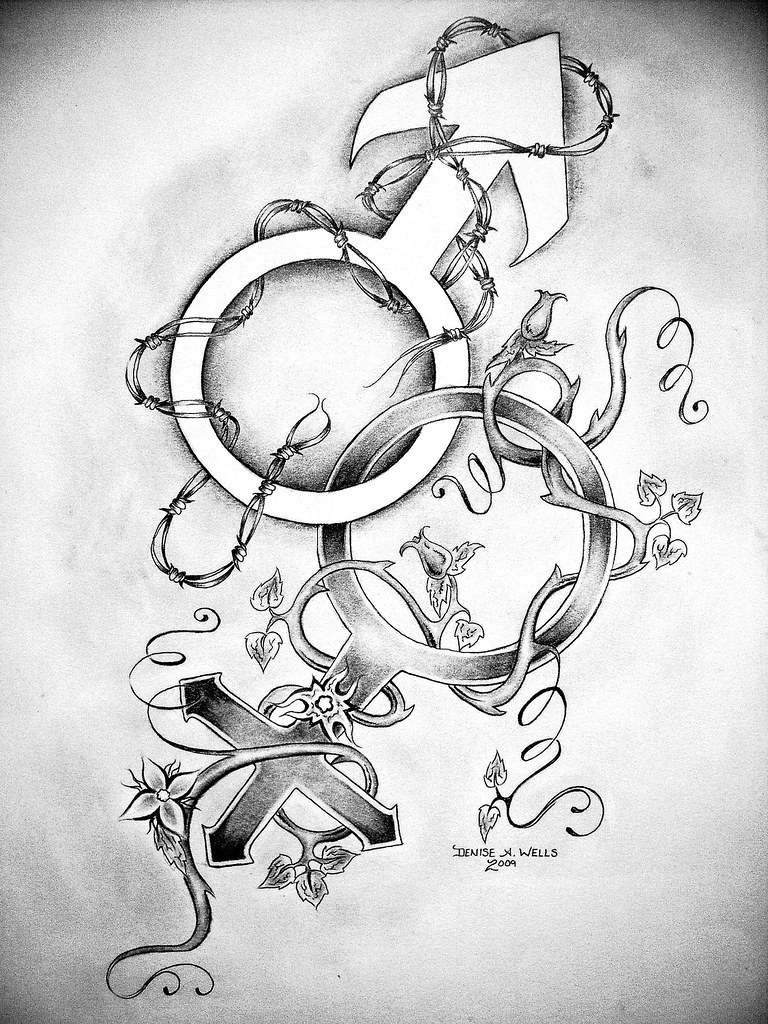 Together Tattoo Design By Denise A Wells Together By D Flickr