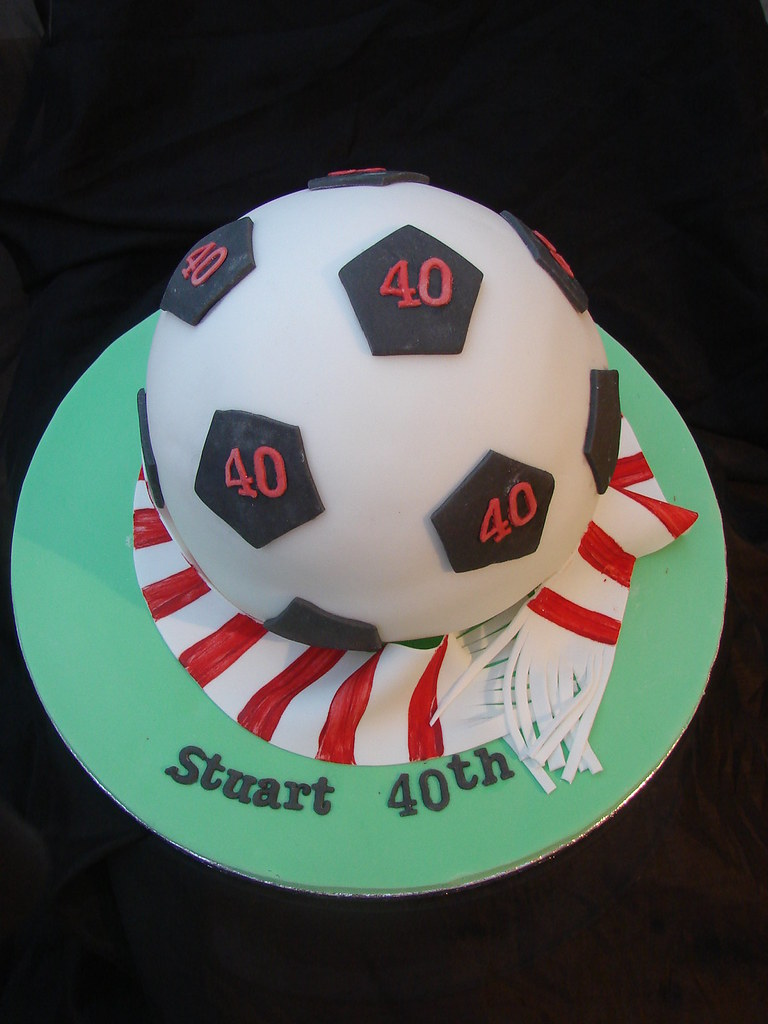 Football Birthday Cake Cakes4you Cakes4youbtinternet
