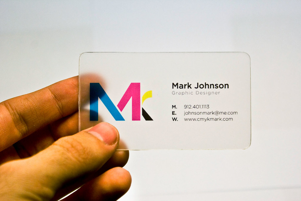 My New Business Card | My newly designed and assembled busin… | Flickr