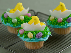 Food Network Easter cupcakes | by Rachel from Cupcakes Take the Cake
