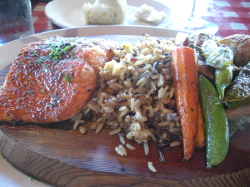 King 39 s fish house long beach cedar plank sockeye salmon for King s fish house long beach ca
