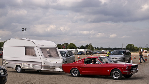 Mustang towing a caravan! Americana 2009 | by SUNGLASSES AFTER DARK