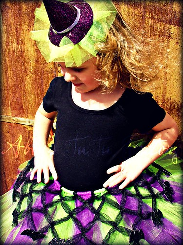 Very Batty Criss Cross Witch TuTu | by Abbys TuTu Factory