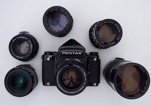 My Black Beauty: The Pentax 67 | by Noctcaelador
