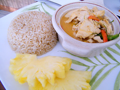 Panang Lunch Special (chicken) at Sri Siam Cafe, MyLastBite.com | by MyLastBite