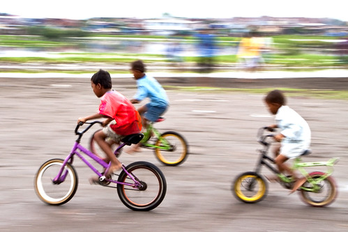 Rajawali, Makassar - Bicycles race | by Mio Cade