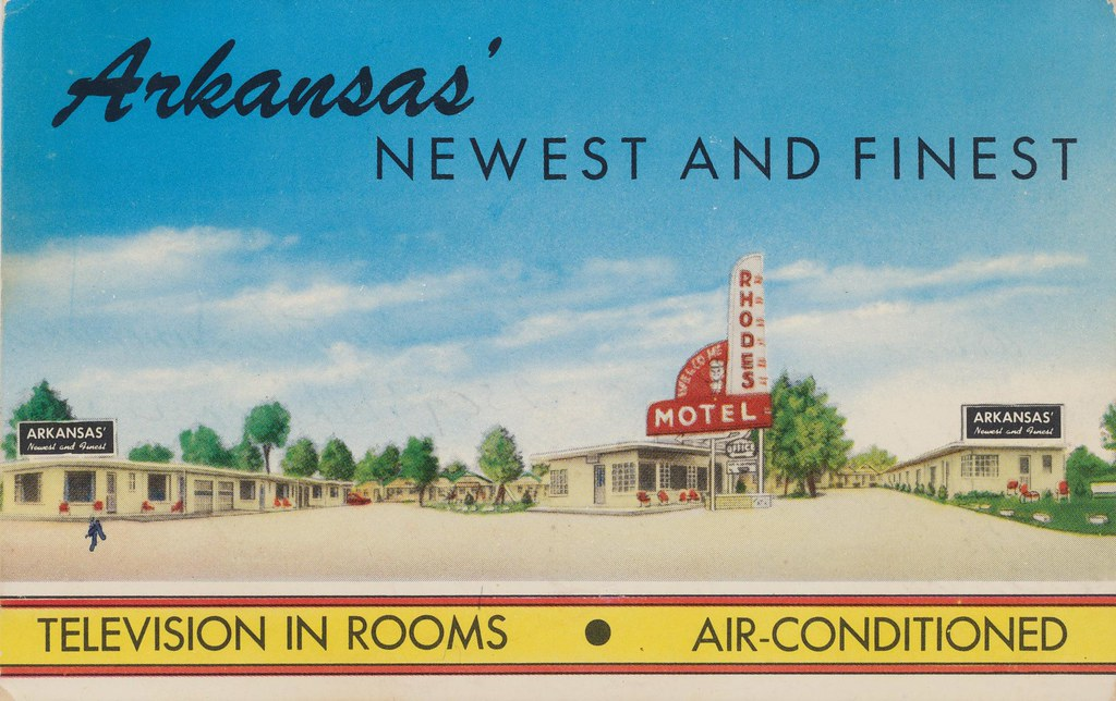 Rhodes Motel - North Little Rock, Arkansas
