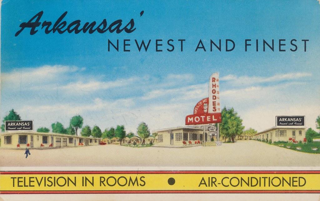 Rhodes Motel - North Little Rock, Arkansas