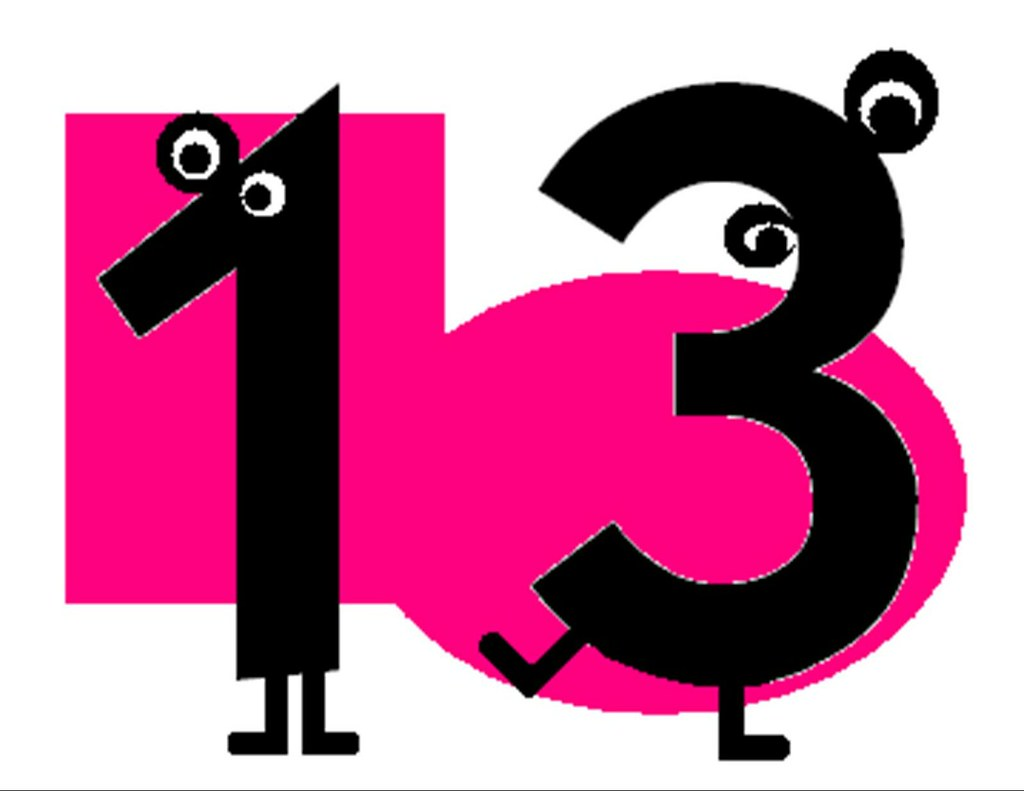 Number 13 Clip Art | www.imgkid.com - The Image Kid Has It!