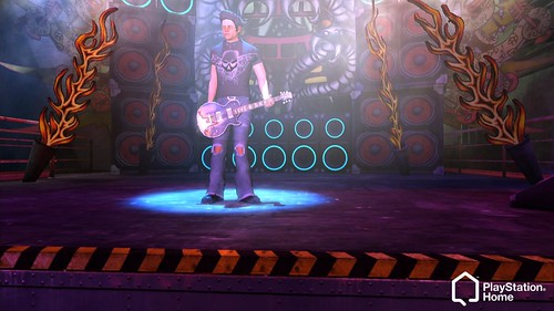 Guitar Hero PlayStation Home Space 7 | by PlayStation.Blog