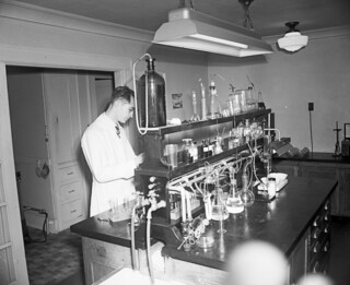 City water testing laboratory, 1948 | by Seattle Municipal Archives