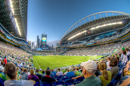 HDR1 - Qwest Field, Seattle Sounders (fisheye) | by ArtBrom