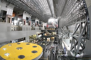 Inside of Kyoto station | by Teruhide Tomori