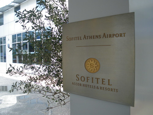 Sign at the Entrance to the Sofitel Athens Airport ( October 2009 ). | by || UggBoy♥UggGirl || PHOTO || WORLD || TRAVEL ||