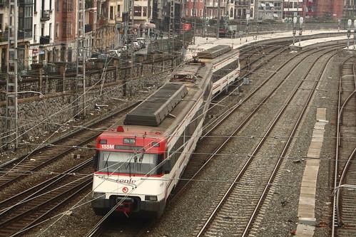 RENFE Class 446 arriving at Bilbao