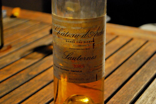 1988 Sauternes | by goingslowly