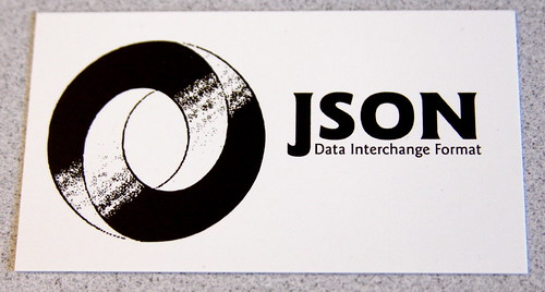 JSON Card -- Front | by superfluity