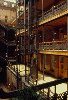 Bradbury Building, Los Angeles, 1979 | by Distraction Limited