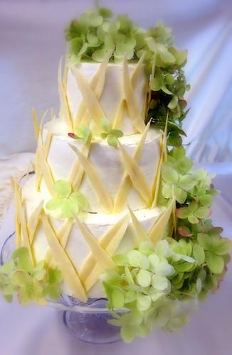 Lattice Wedding Cake