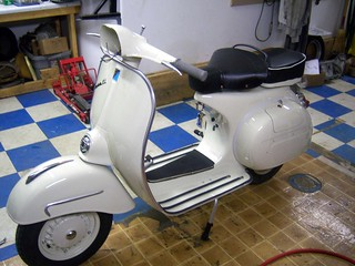 Vespa GL Assembly #15 | by Austin and David Van Zante