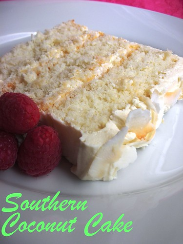 Southern White Cake Recipe
