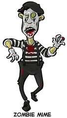 Zombie Mime | by ExtraLife