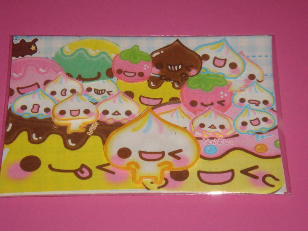 By Kawaii Goodies4u Food With Faces Artists Trading Card Soo Cute