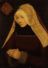 Possibly Lady Margaret Beaufort, mother of Henry VII, grandmother of Henry VIII, Margaret, and Mary Tudor | by lisby1