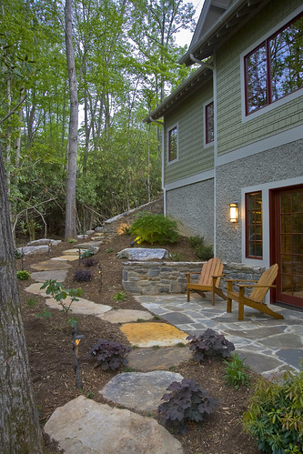 stone-patio-walkway | by ACM Design Architects