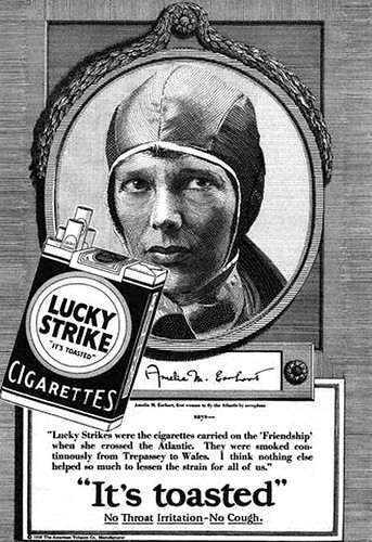 Amelia Earhart--Lucky-Strike | by x-ray delta one