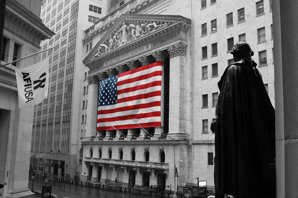 new york - noir et blanc partiel | bourse de new york | guillaume
