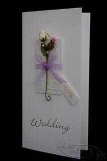 Thistle rose wedding invitation wedding inivitation for 3d rose wedding invitations
