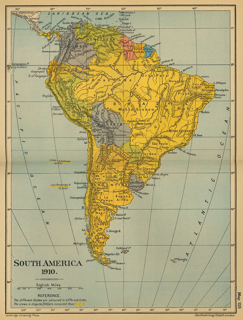 Mapa Antiguo América Del Sur South America Old Map Flickr - Sur america map