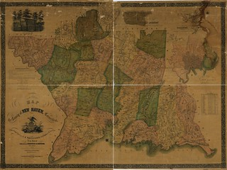Map of the county of New Haven, Connecticut | by uconnlibrarymagic