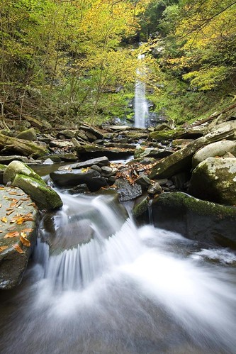 Plattekill Falls in Early Autumn, Catskills, NY, 2009 | by Christopher Wisker - Northeastern Travels