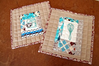 Karen's Quilted Pot Holders | by the workroom